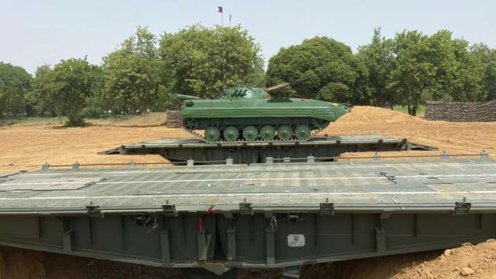 The bridging system has been designed by DRDO and