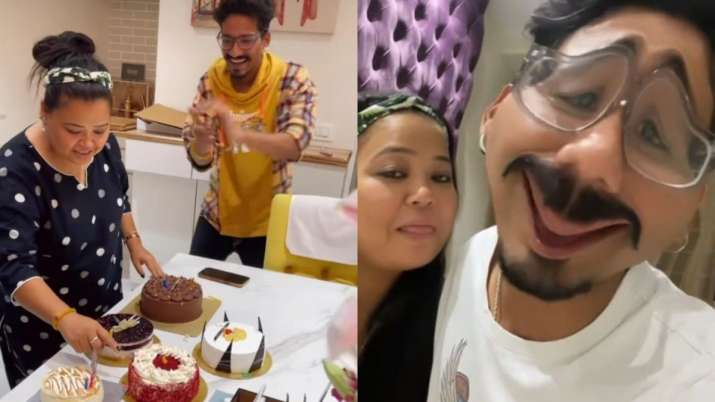 Haarsh Limbachiyaa wishes wife Bharti Singh with hilarious birthday video