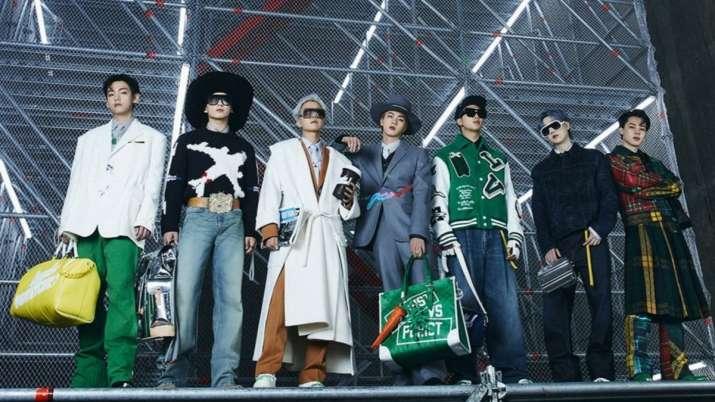 BTS in Louis Vuitton's fashon film
