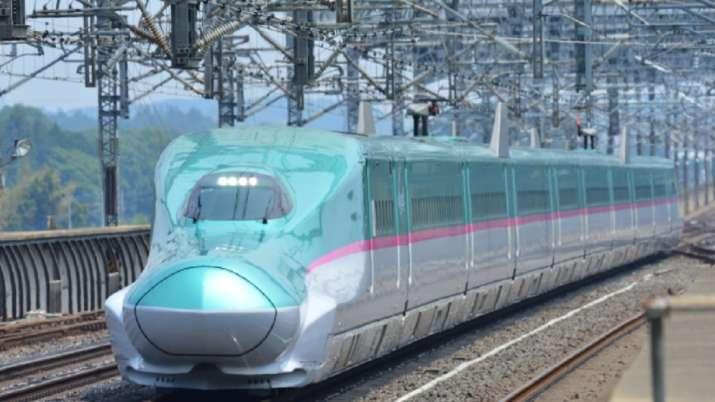 India Tv - Shinkansen E5 series bullet train