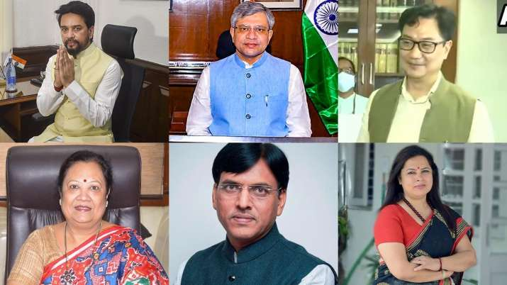 New ministers, ministers take charge, Cabinet reshuffle, latest national news updates, cabinet minis