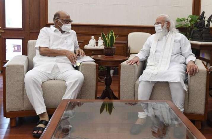 Sharad Pawar meets PM Modi