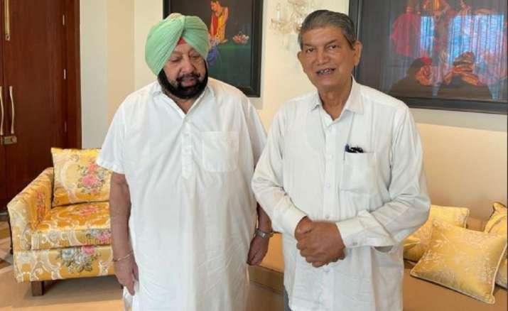 Harish Rawat meets Punjab CM Capt Amarinder Singh