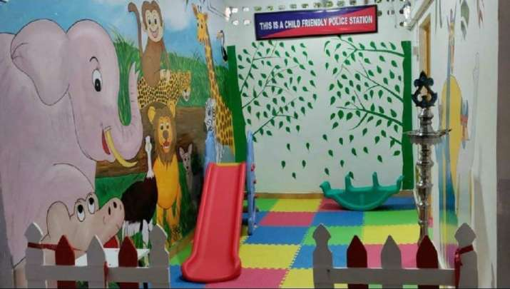 India Tv - child friendly police stations