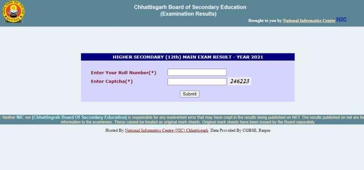 India Tv - CGBSE Class 12 result 2021