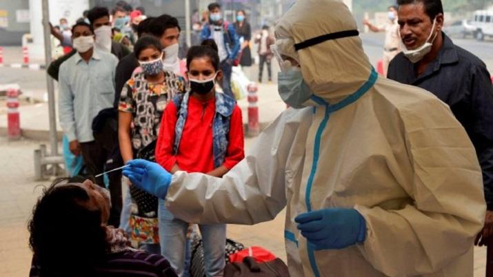 COVID cases in Delhi
