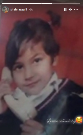 India Tv - Shehnaaz Gill looks as cute as a button in THIS childhood picture