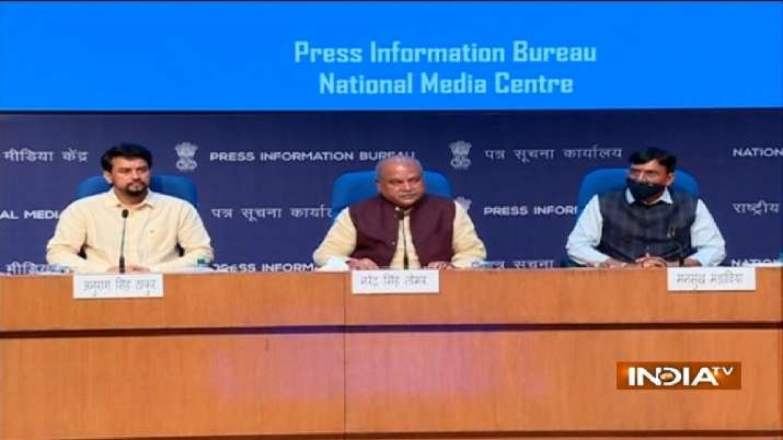 This was first briefing by the new Modi Cabinet ministers
