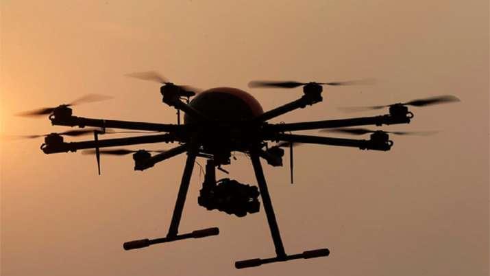 Drone spotted near Jammu. (Representational image)