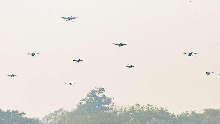 drones in jammu