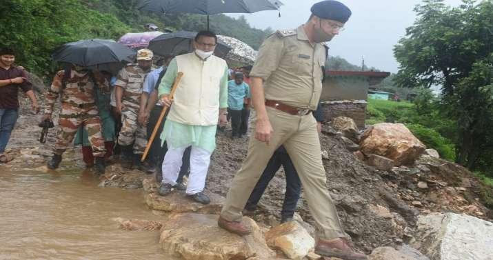Uttarakhand, Uttarakhand CM, Pushkar Singh Dhami, floods hit Uttarakhand, Uttarkashi district, CM vi