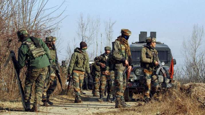 Four militants killed in South Kashmir gunfights 2 each in