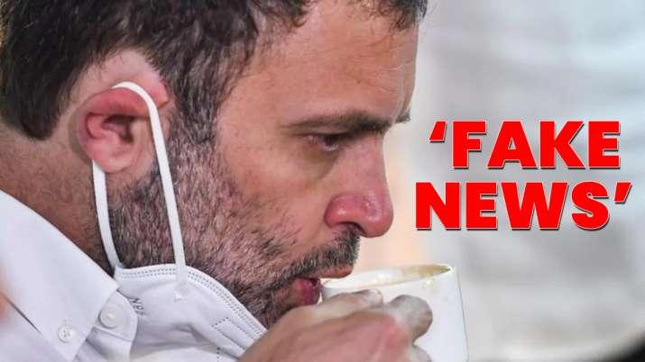 rahul gandhi fake news