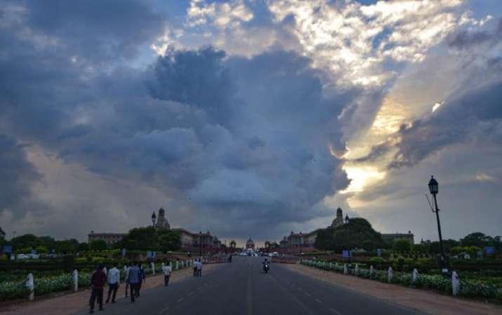delhi weather alert