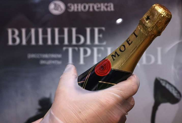 Moet-Hennessy champagne