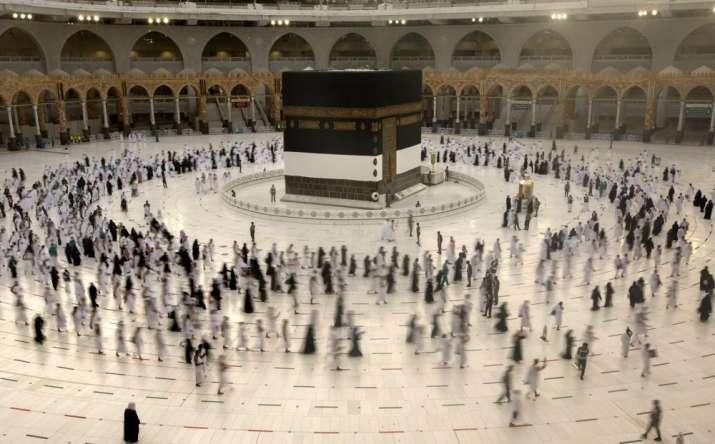 hajj pilgrimage with social distancing