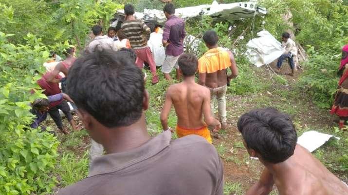 Helicopter Crash Jalgaon Maharashtra