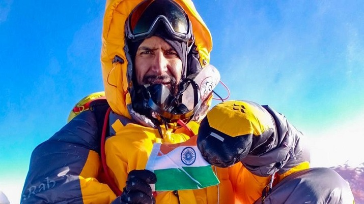 IIT, IIT Delhi alumnus, Neeraj Chaudhary, COVID-19, Mount Everest, coronavirus, covid positive, iit