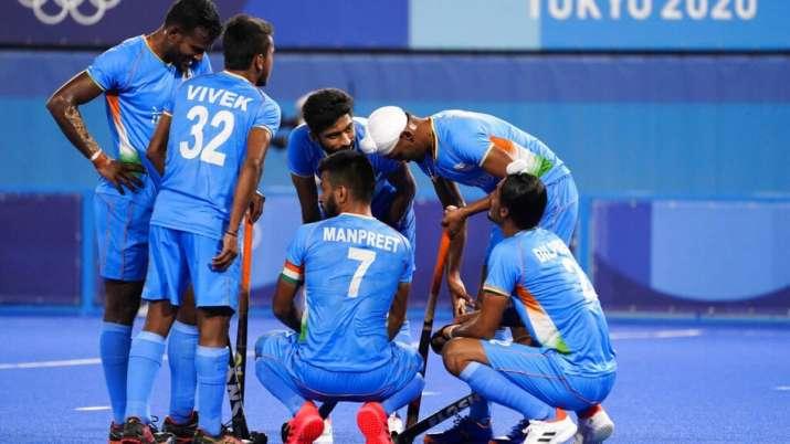 File photo of Indian hockey team.