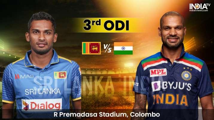 Sri Lanka vs India Live Streaming 3rd ODI: Watch SL vs IND 3rd ODI Live Online on SonyLIV