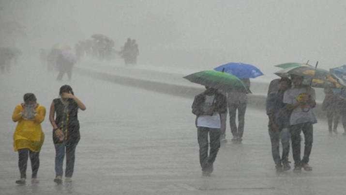 Rains in Rajasthan, Monsoons
