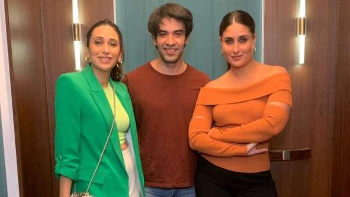 Karisma Kapoor, Kareena Kapoor Khan shot together for 'something exciting'