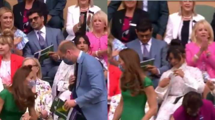 Did Priyanka Chopra ignore Prince William and Kate Middleton at Wimbledon? Twitter thinks so!