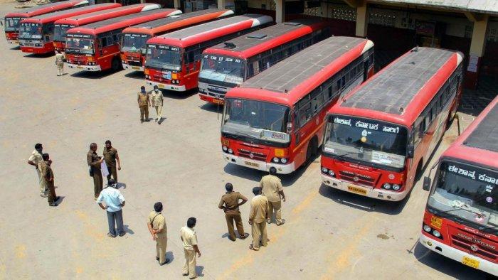 ksrtc bus service