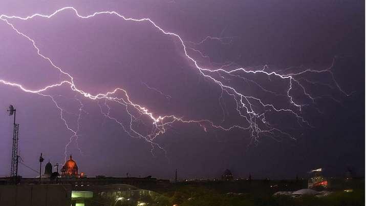 Lightning kills 20 as parts of north India receive rain, Delhi waits for monsoon