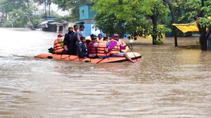 India Tv - Maharashtra rains, Maharashtra floods, Kolhapur