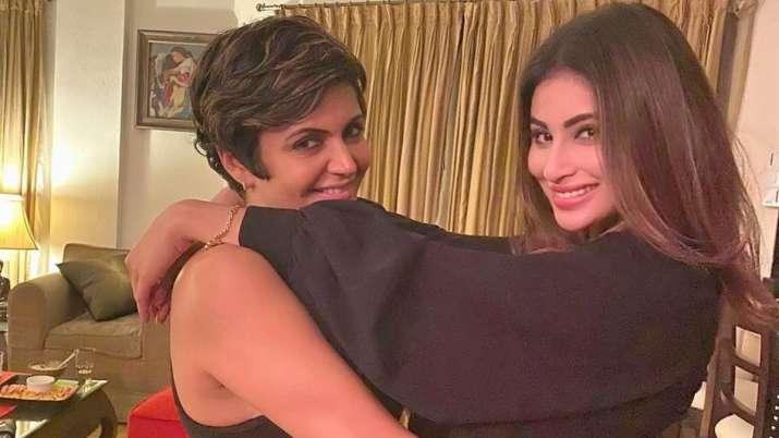 Mandira Bedi and Mouni Roy