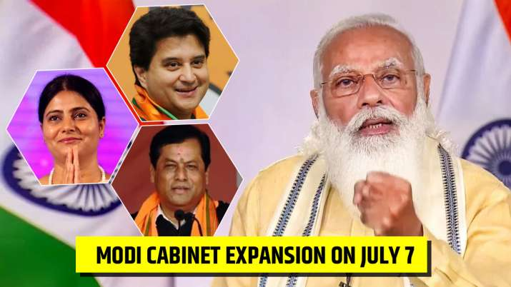 PM Modi is likely to include 19-20 fresh faces in his
