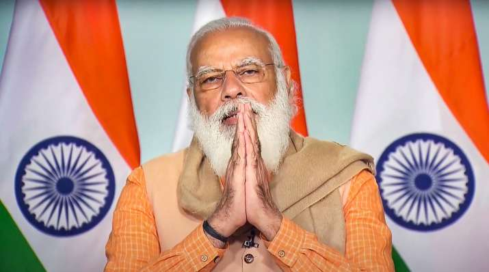PM Modi praises retired army officer for supporting
