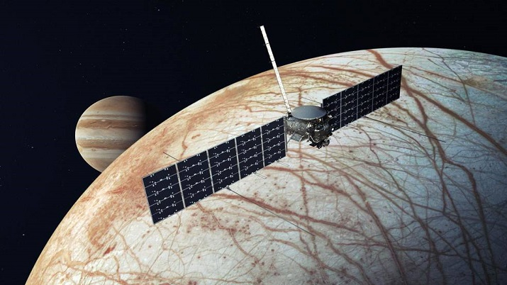 NASA to take SpaceX flight for Mission to Jupiter's icy moon