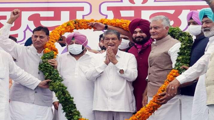 Newly appointed Punjab Congress President Navjot Singh
