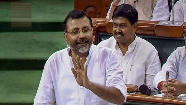 BJP MP Nishikant Dubey