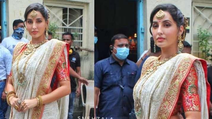 Nora Fatehi expresses desire to star in her idol Madhuri Dixit's biopic