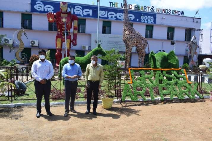 ITI Berhampur gets first grass art park on World Youth
