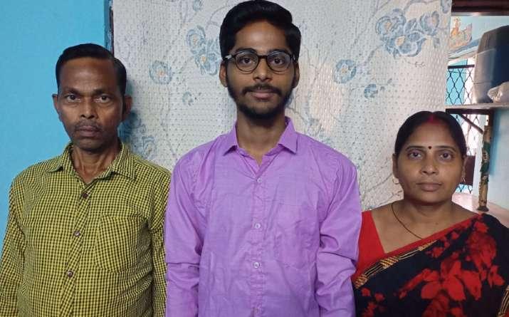 CBSE Class 12 results 2021, cbse results, cbse results 2021, plumber son gaurav sharma, cbse success