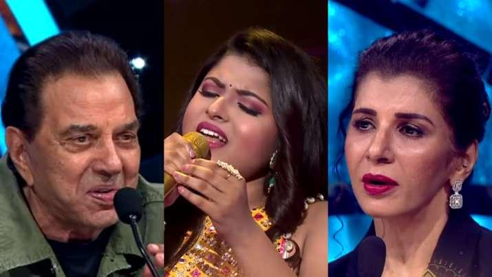 Indian Idol 12: Dharmendra, Anita Raaj to grace the show, Arunita's melodious voice wins hearts