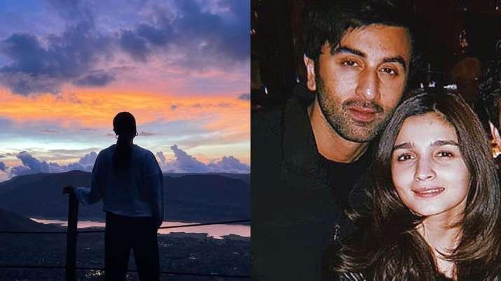 Alia Bhatt shares sunset pic, fans ask if Ranbir Kapoor clicked it. Don't miss Arjun Kapoor's reply