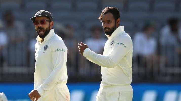 Virat Kohli and Hanuma Vihari