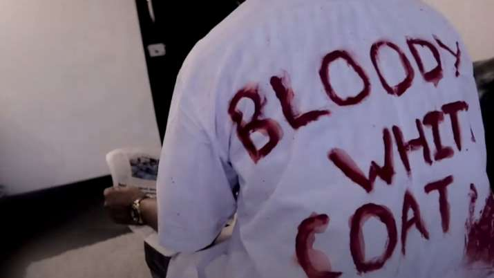 National Doctors' Day 2021:Bloody White Coat song raises awareness on abuse of healthcare workers