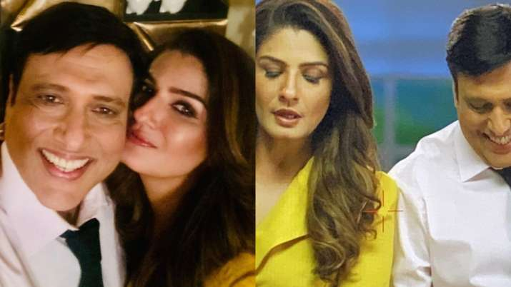 Raveena Tandon, Govinda to share screen space again; actress shares glimpse of their 'grand reunion'