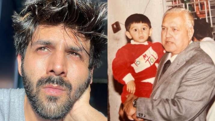 Kartik Aaryan's grandfather passes away; actor pens heartfelt note remembering his 'Naanu'