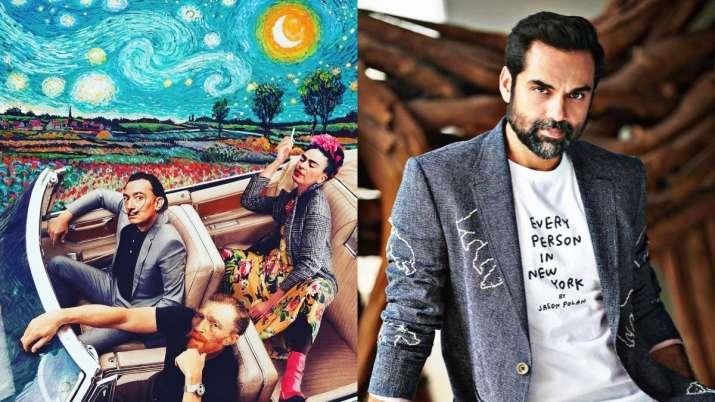 Abhay Deol shares Zindagi Na Milegi Dobara with Dali, Van Gogh and Frida Twist