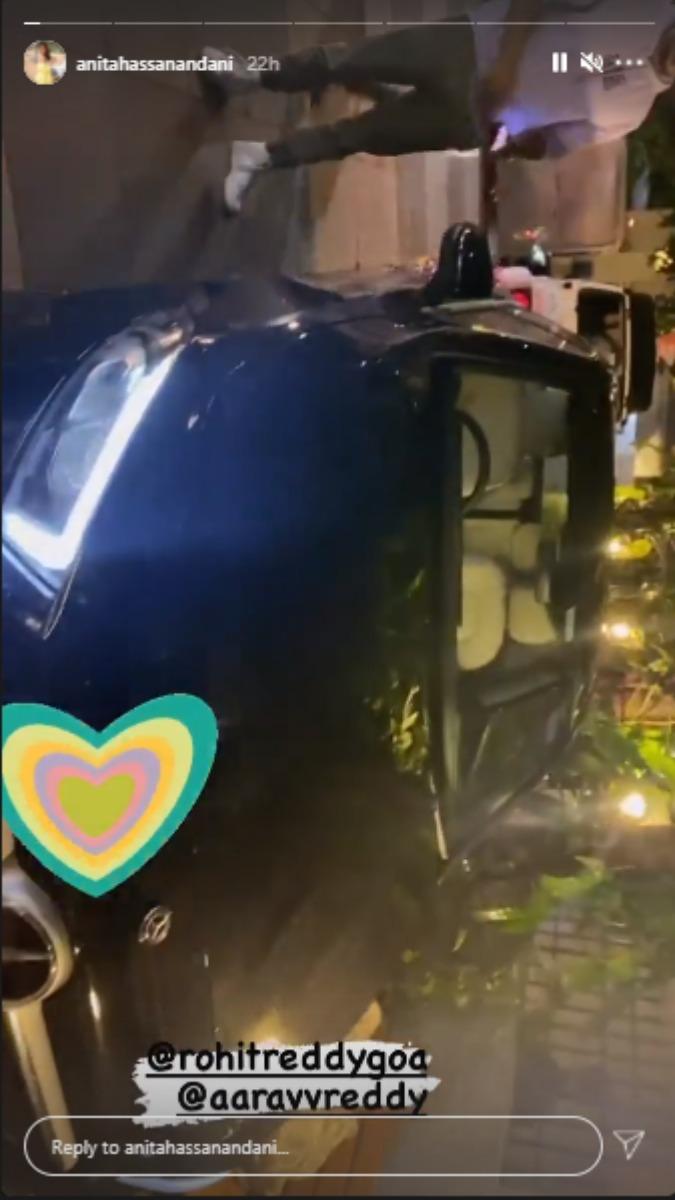 India Tv - DYK Anita Hassanandani links new Mercedes-Benz Aaravv baby