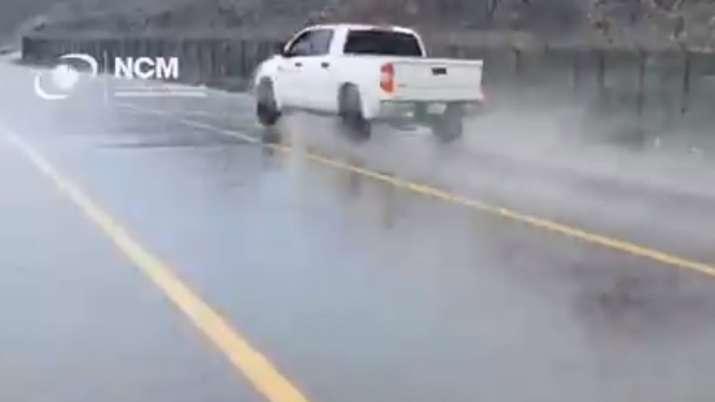 Video: Dubai creates fake rain to battle extreme temperature