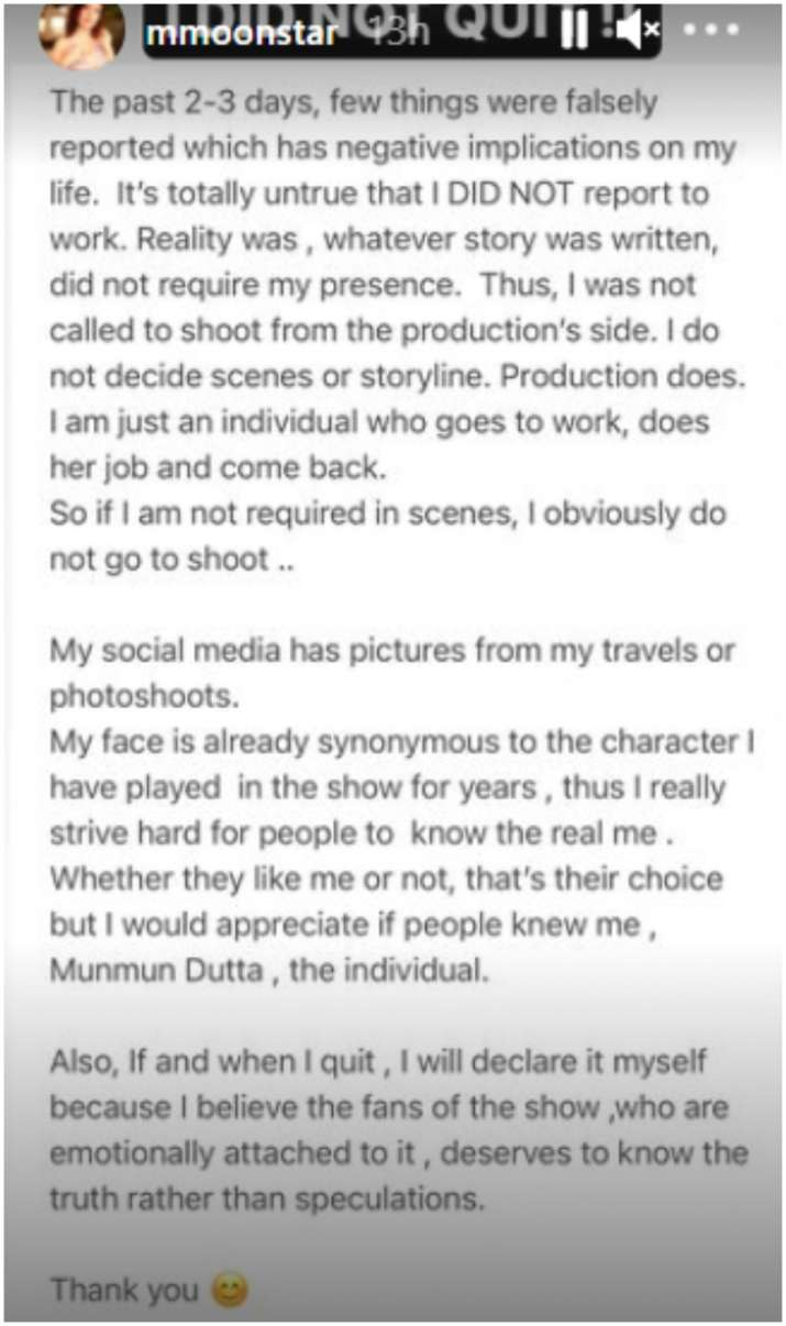 India Tv - Munmun Dutta