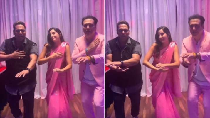 Govinda, Nora Fatehi are here to take away your Monday blues as they dance on Zaalima Coca Cola